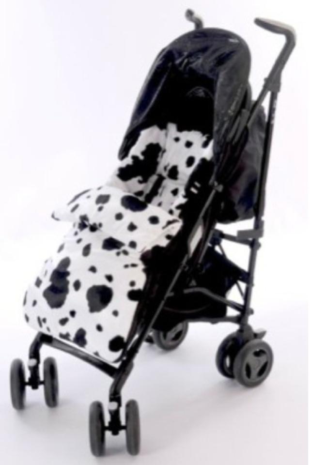 Grey Waterproof fleece cosytoes footmuff  for pushchair IsabellaAlicia UK Made